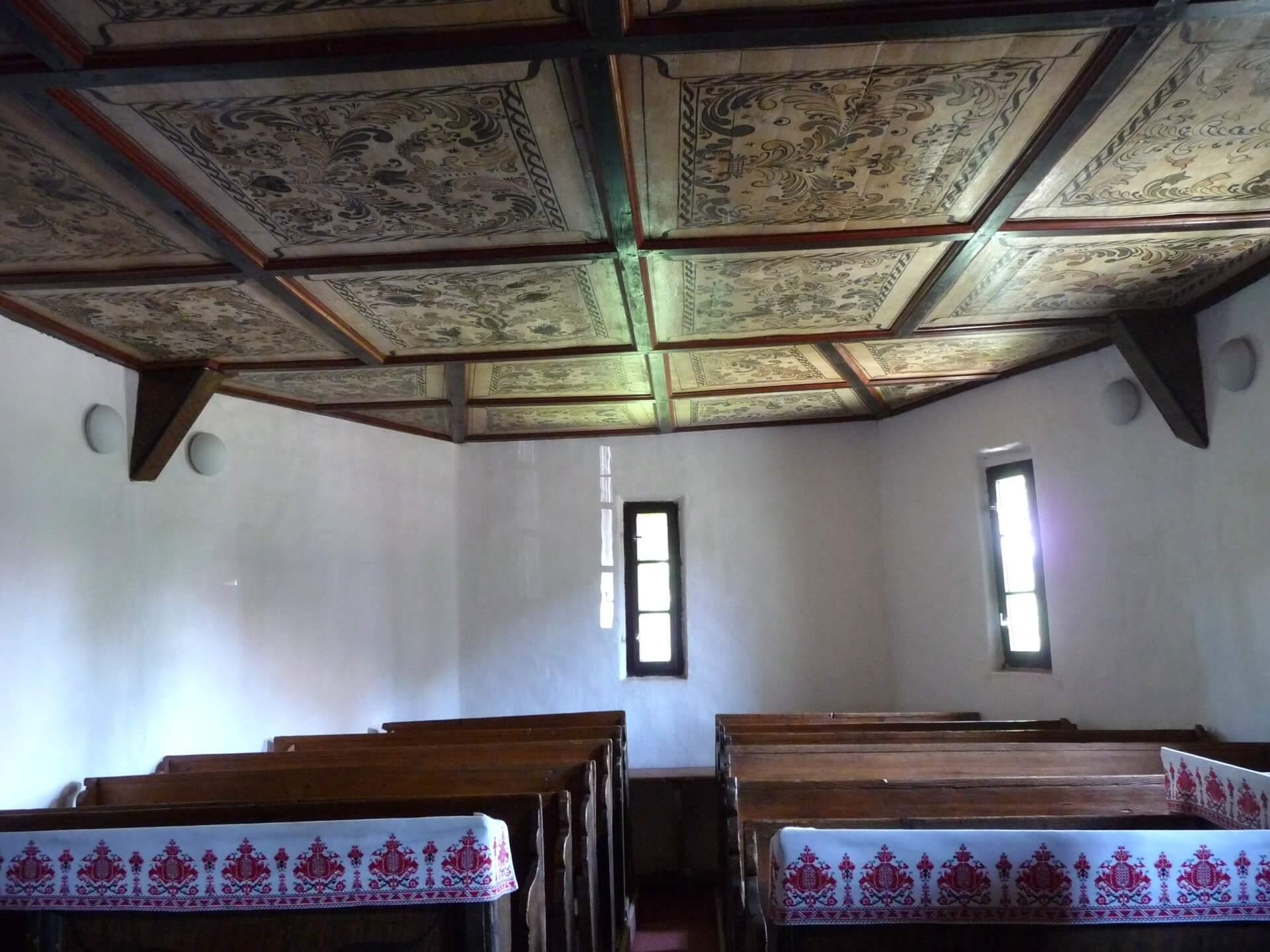 Reformierte Kirche Tákos, Blick nach Osten