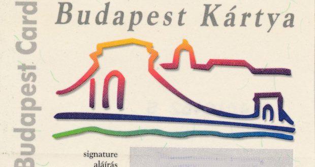 """""""Historische"""" Budapest Card von 2004"""