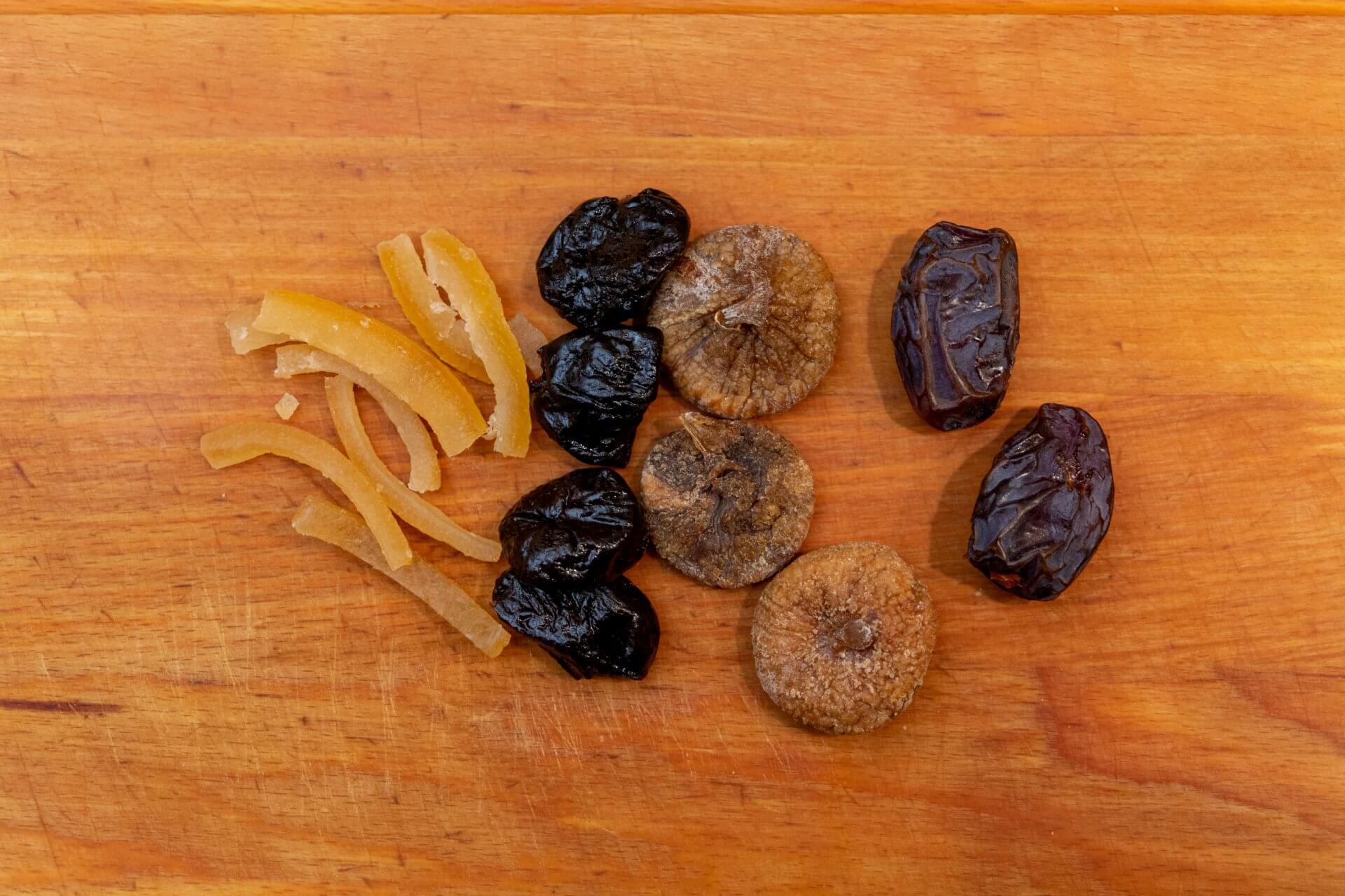 Trockenfrüchte für Krampampuli