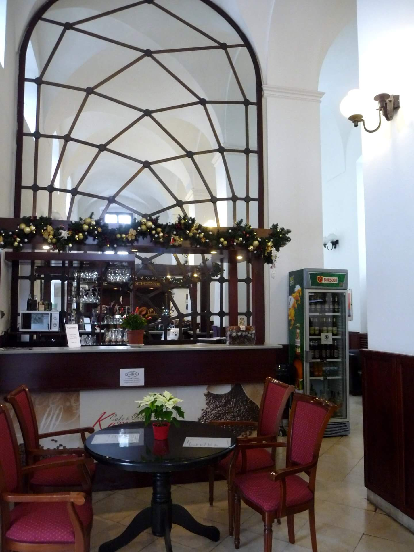 Foyer im Klastrum Hotel in Győr
