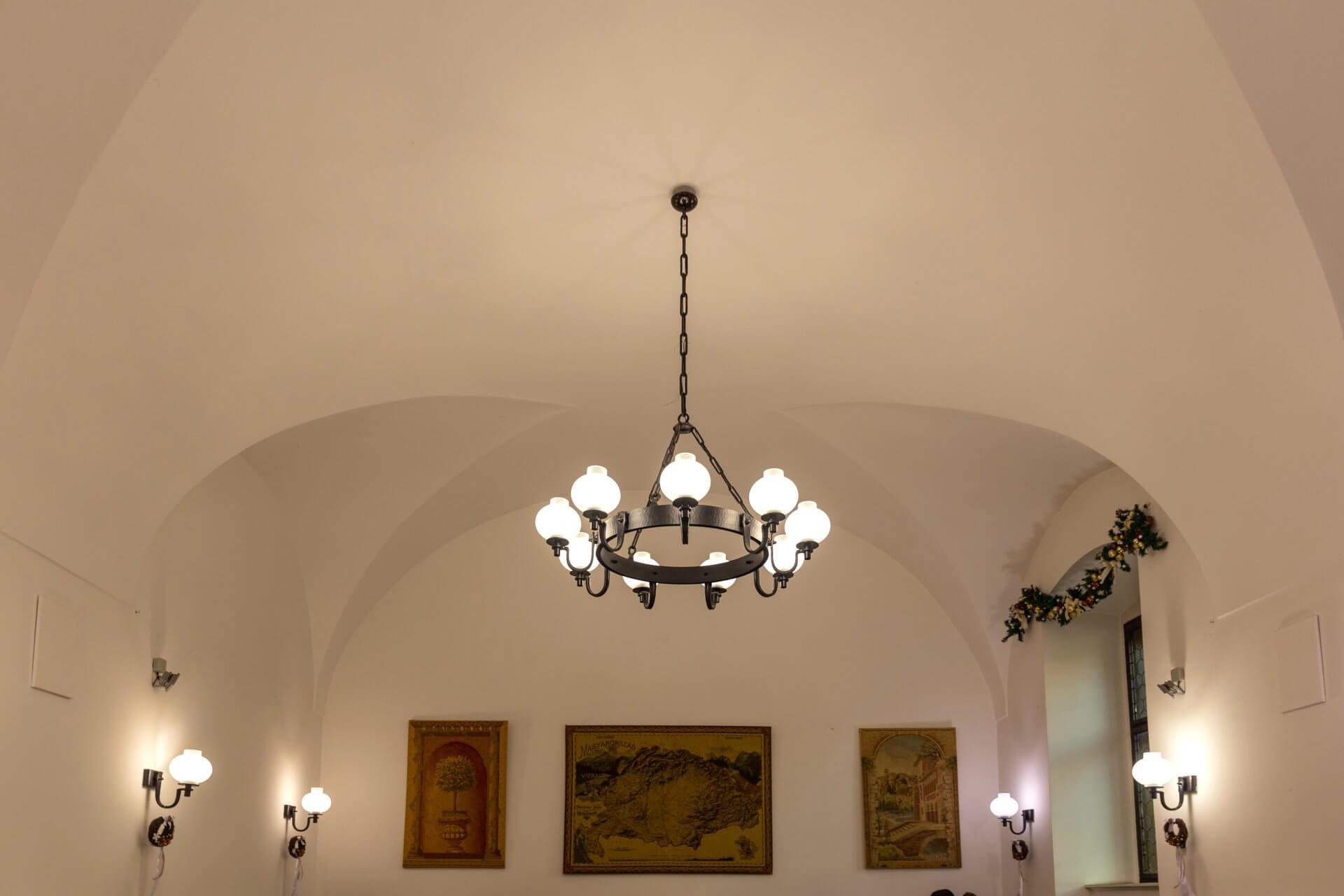 Restaurant im Hotel Klastrum Győr