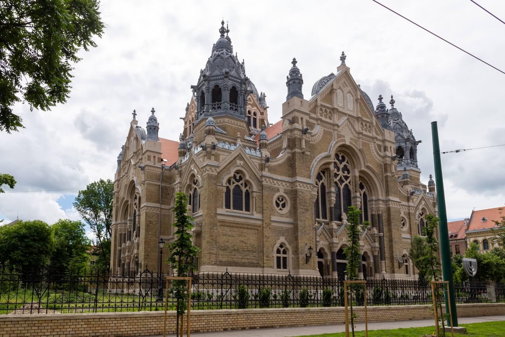 Neue Synagoge Szeged, Gesamtansicht