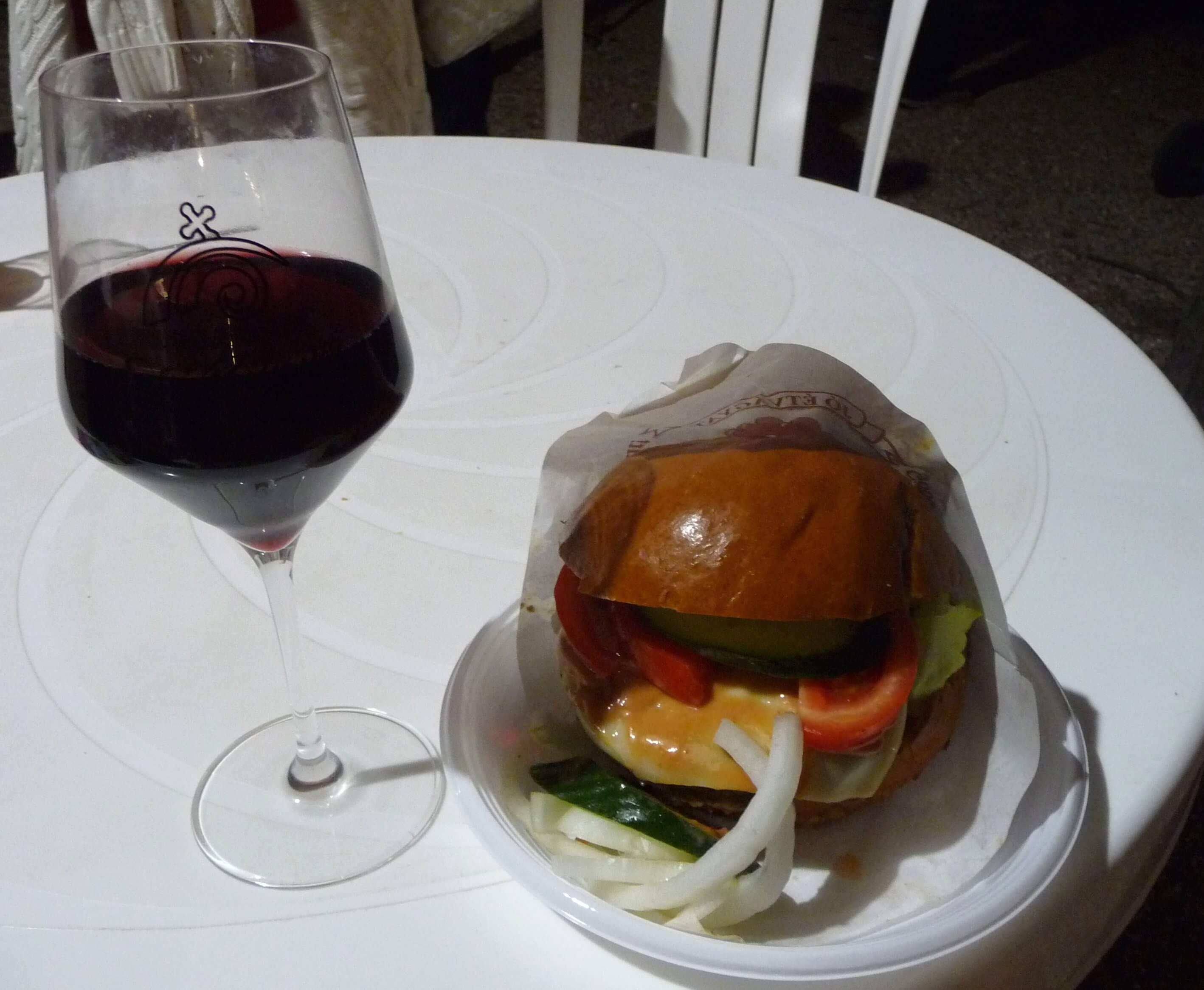 Handwerklicher Burger, Weinfest Eger