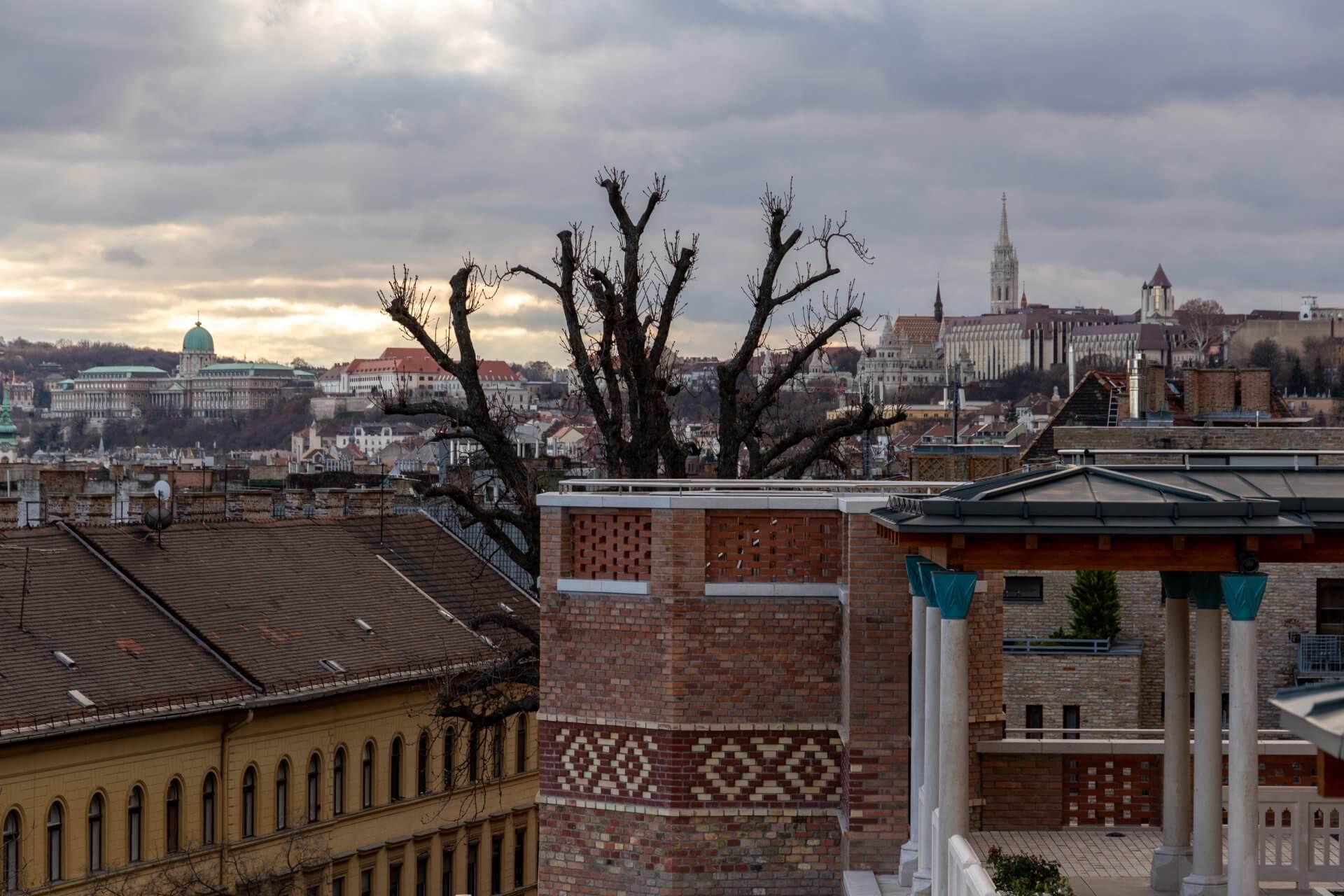 Blick nach Buda von der Türbe