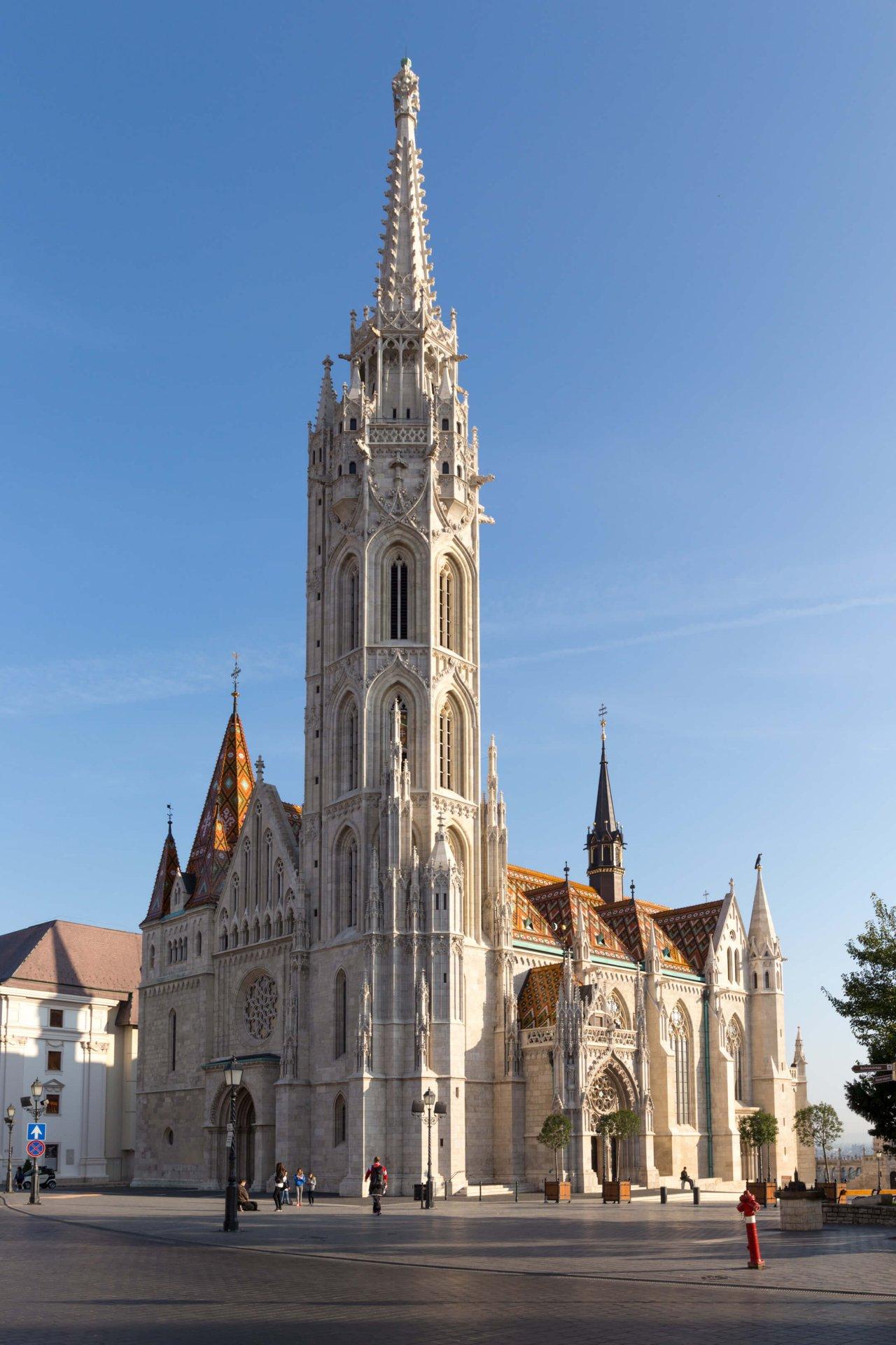 Matthiaskirche Budapest, Gesamtansicht