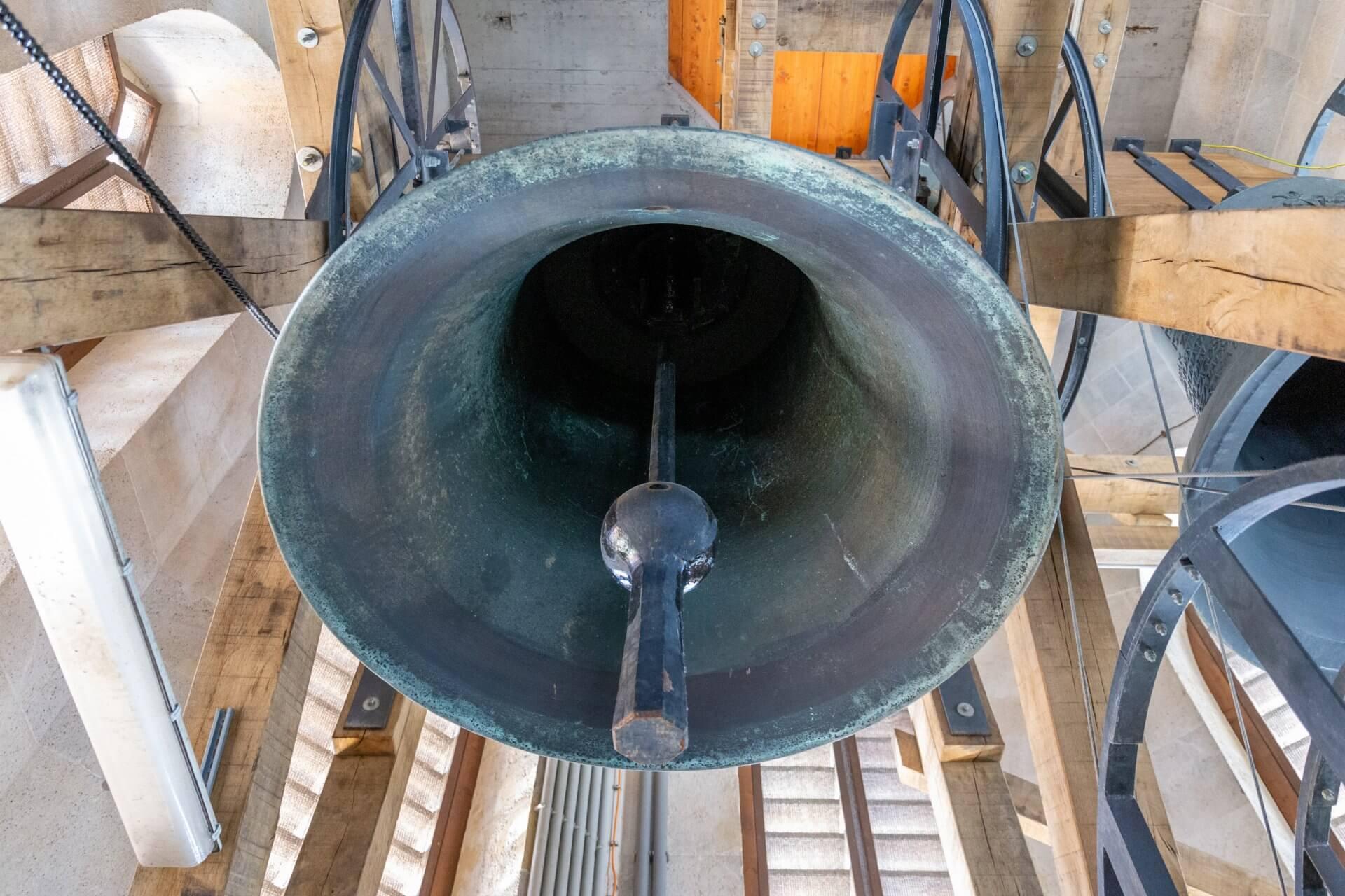 Glocke im Matthiasturm