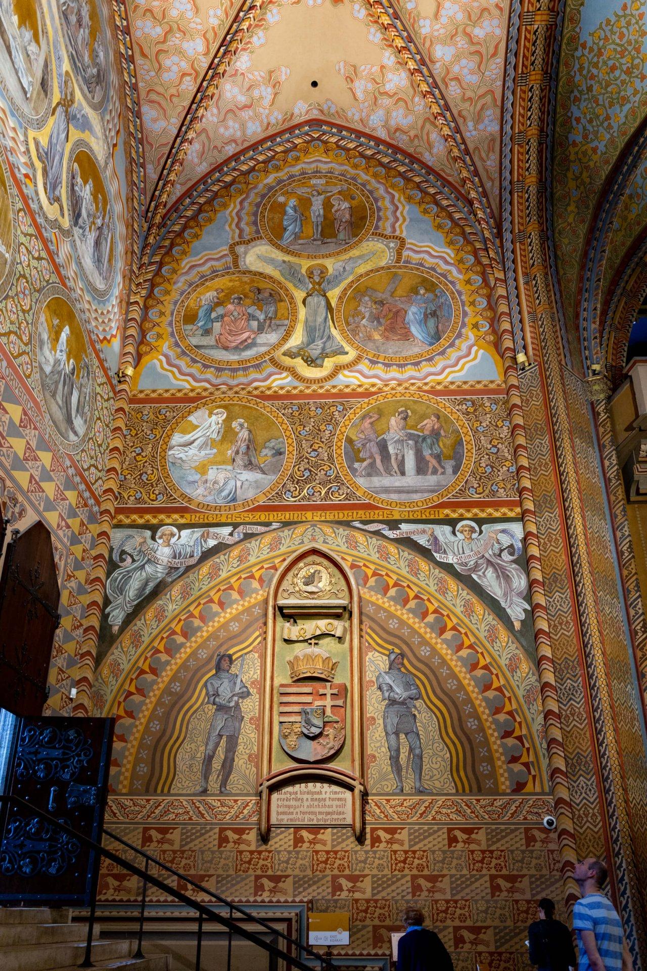 Hunyadi-Kapitell in der Matthiaskirche