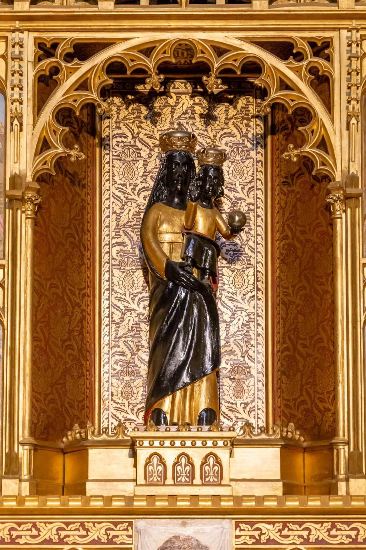 Die schwarze Loreto-Madonna
