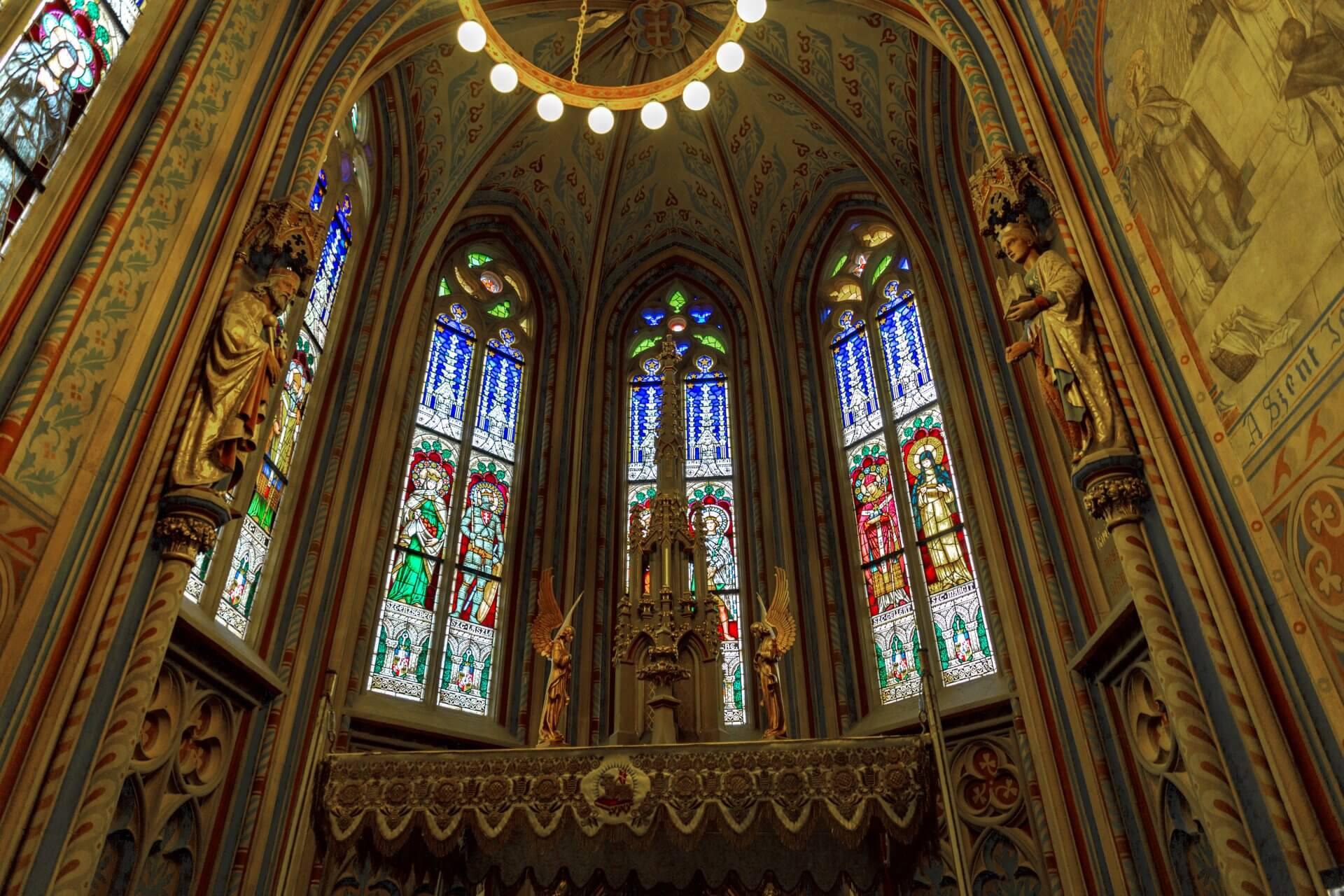 Stephans-Kapelle in der Matthiaskirche