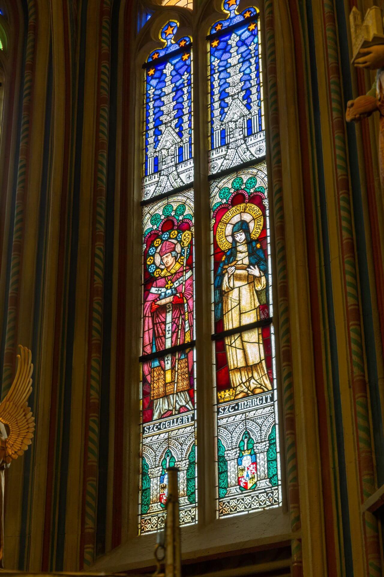 Fenster in der Stephans-Kapelle, Matthiaskirche Budapest