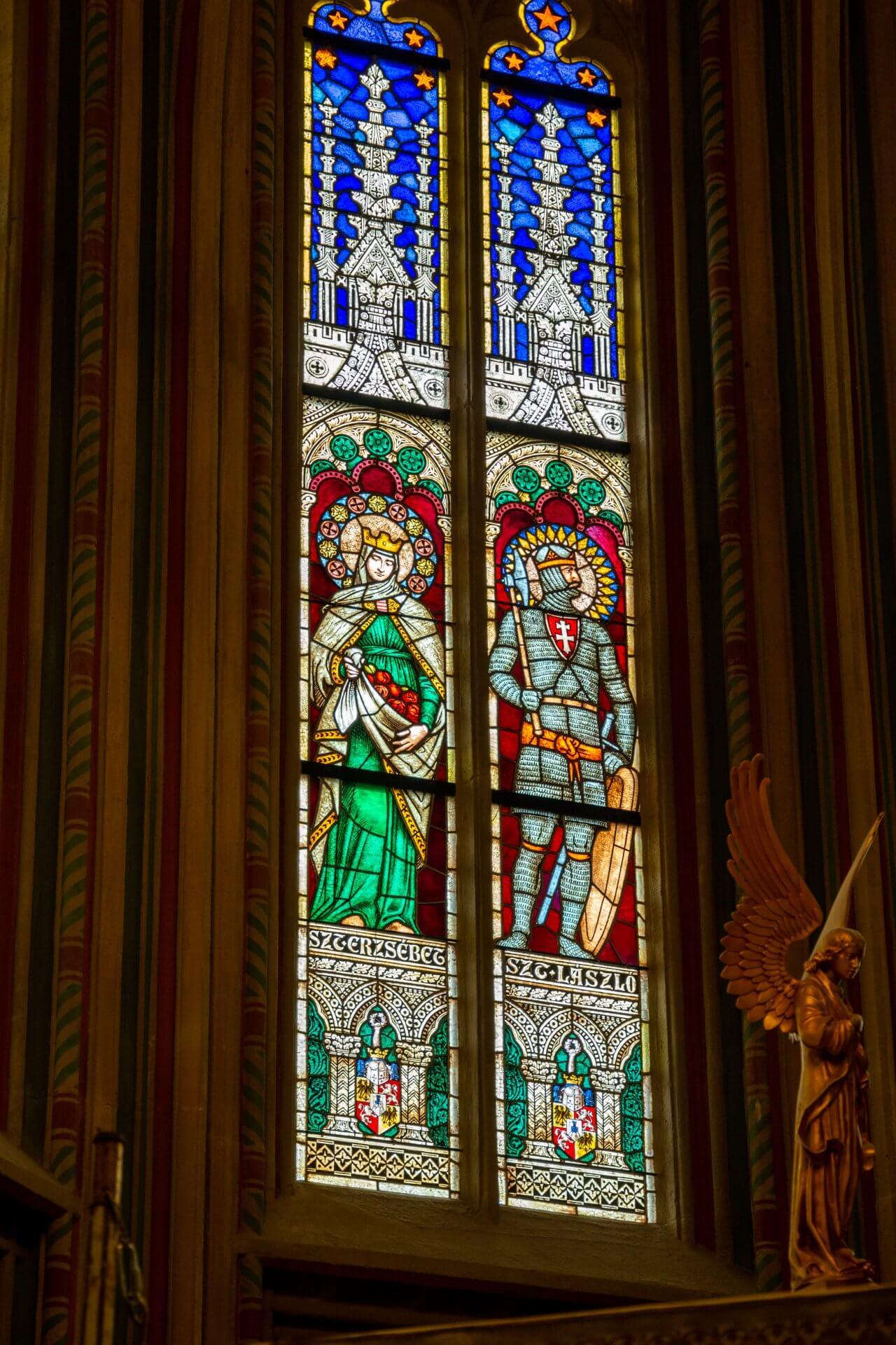 Fenster der Stephans-Kapelle