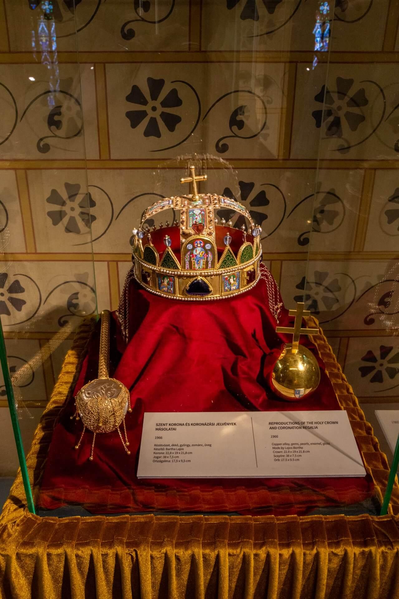 Nachbildung der Stephanskrone, Museum der Matthiaskirche