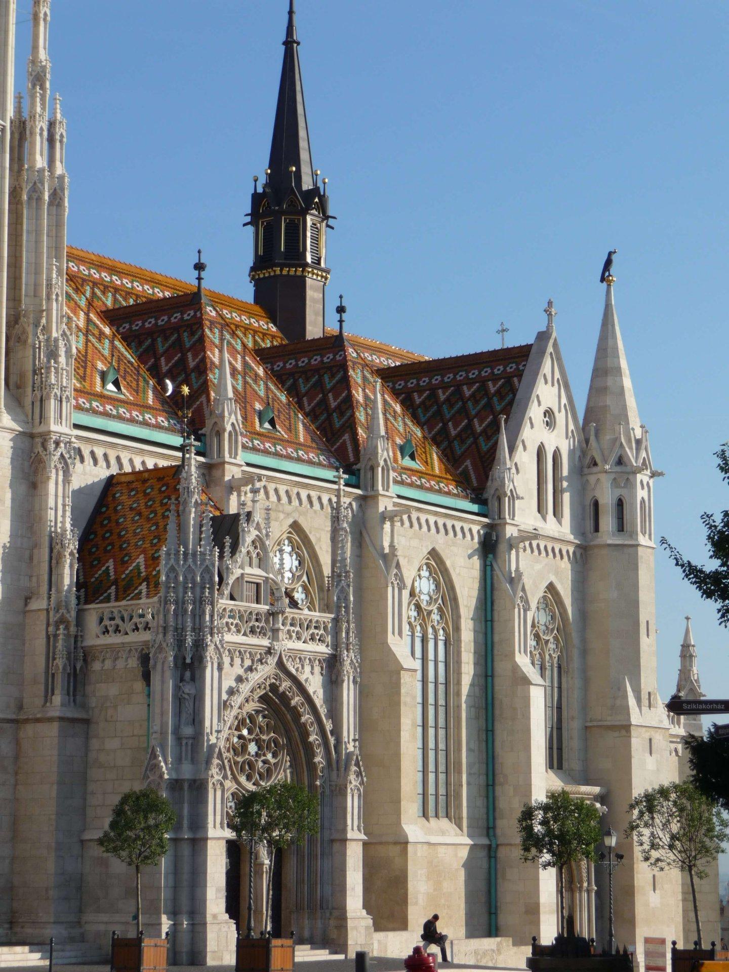 Südfassade der Matthiaskirche