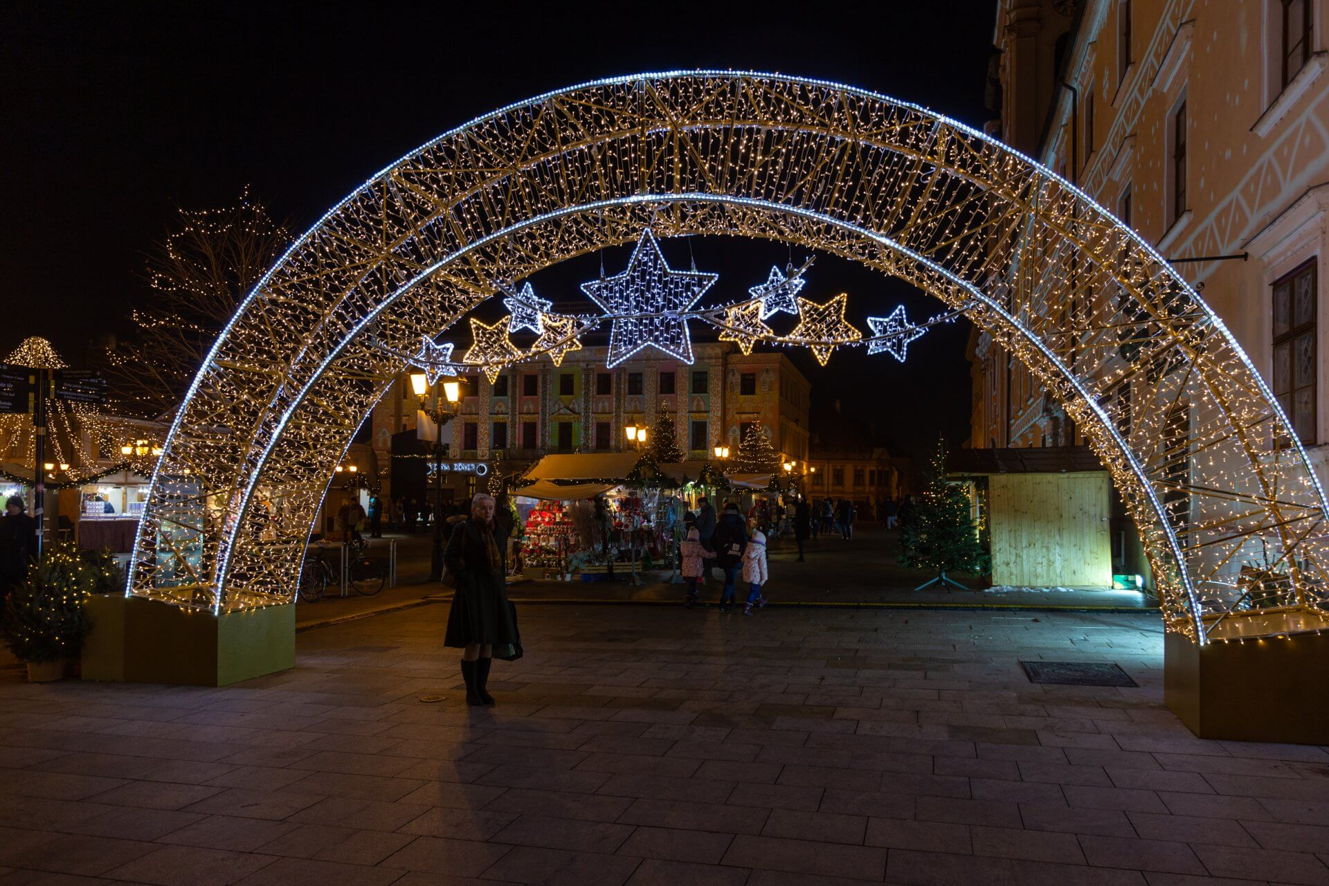 Advent Györ, Széchenyi tér