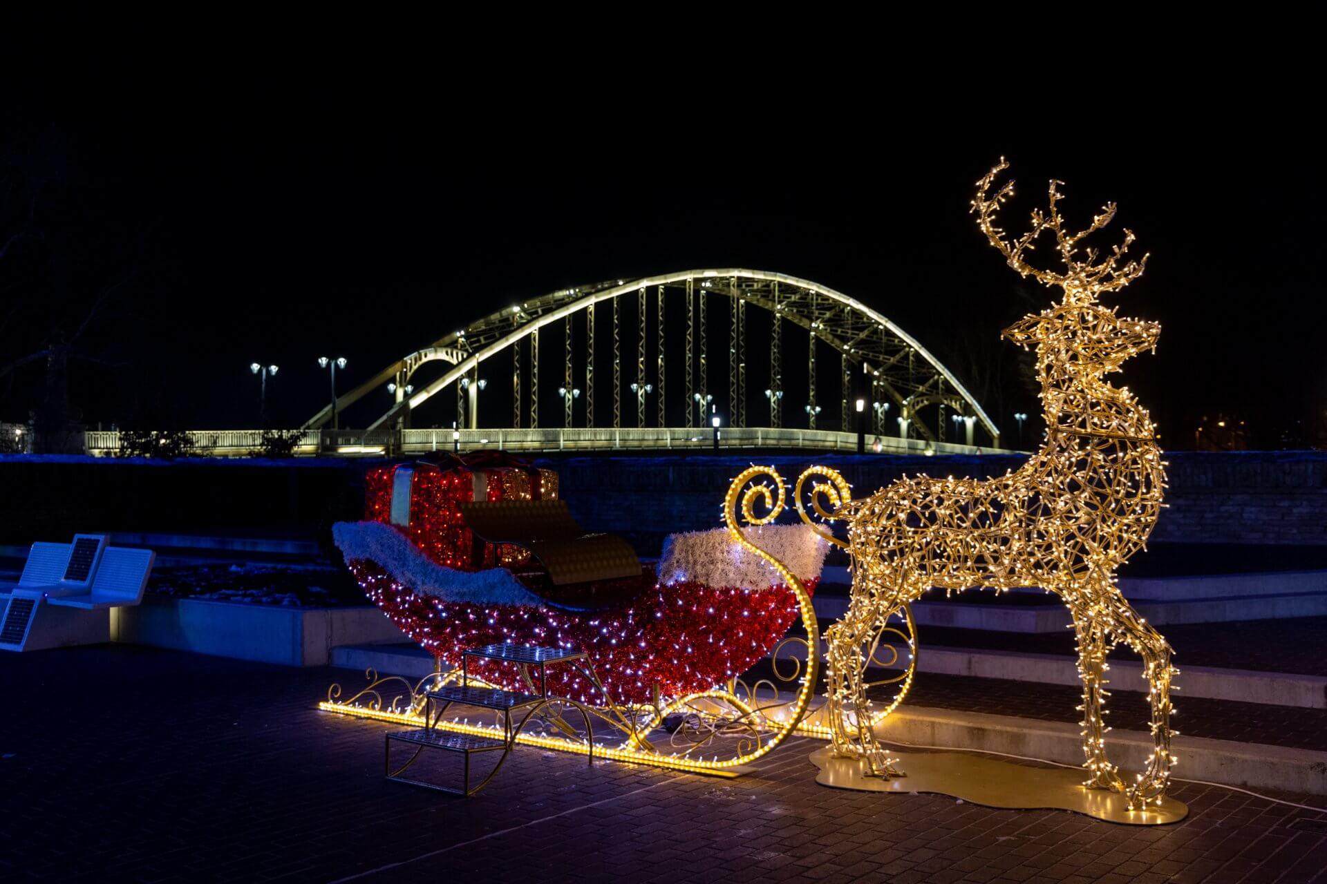 Advent Györ bei Kossuth híd