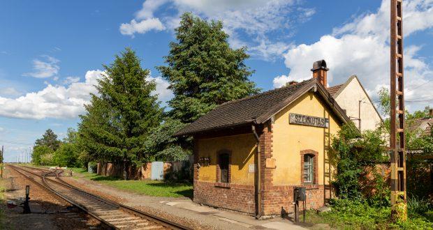 Piroschka-Bahnhof in Székkutas