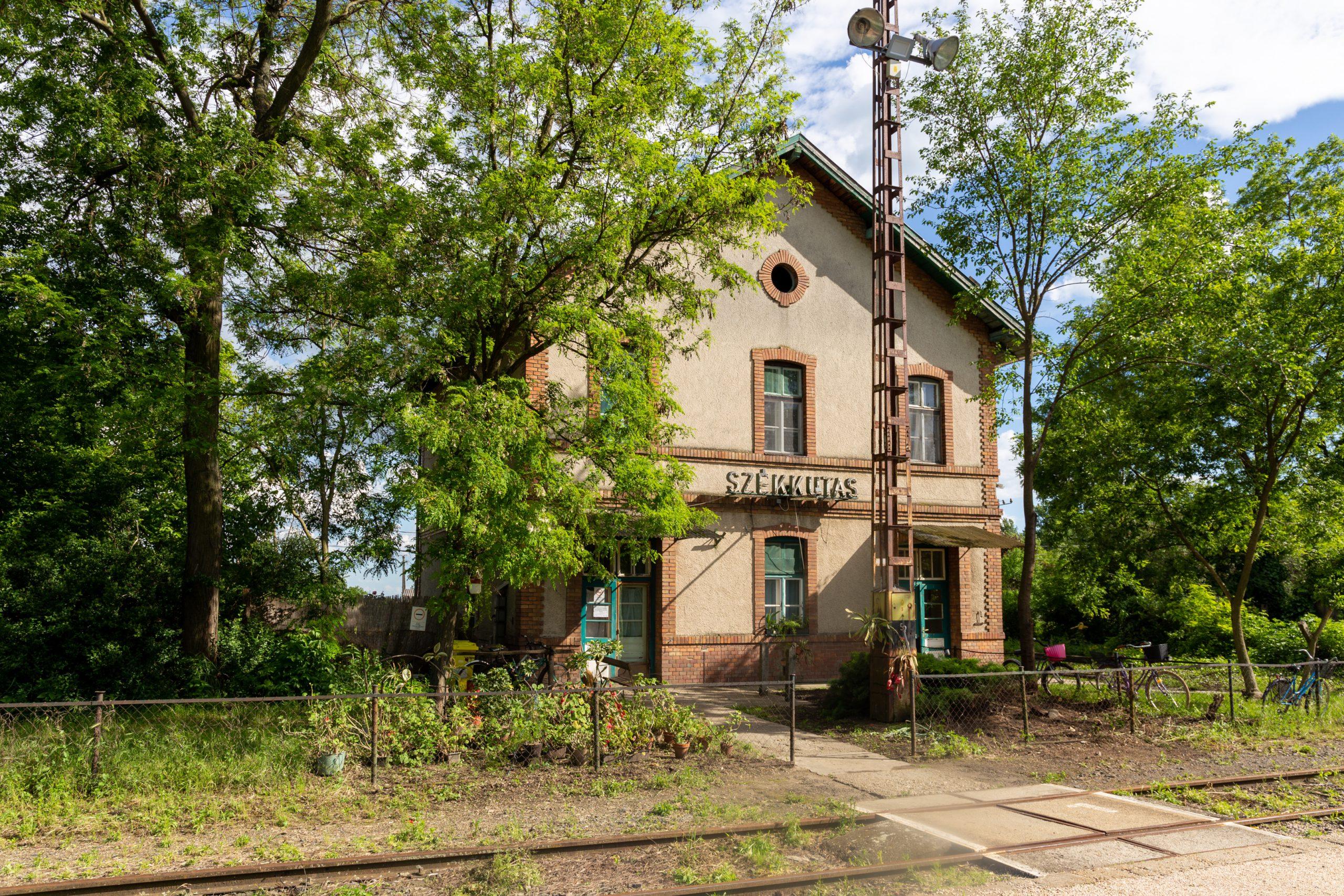 Bahnhof von Székkutas