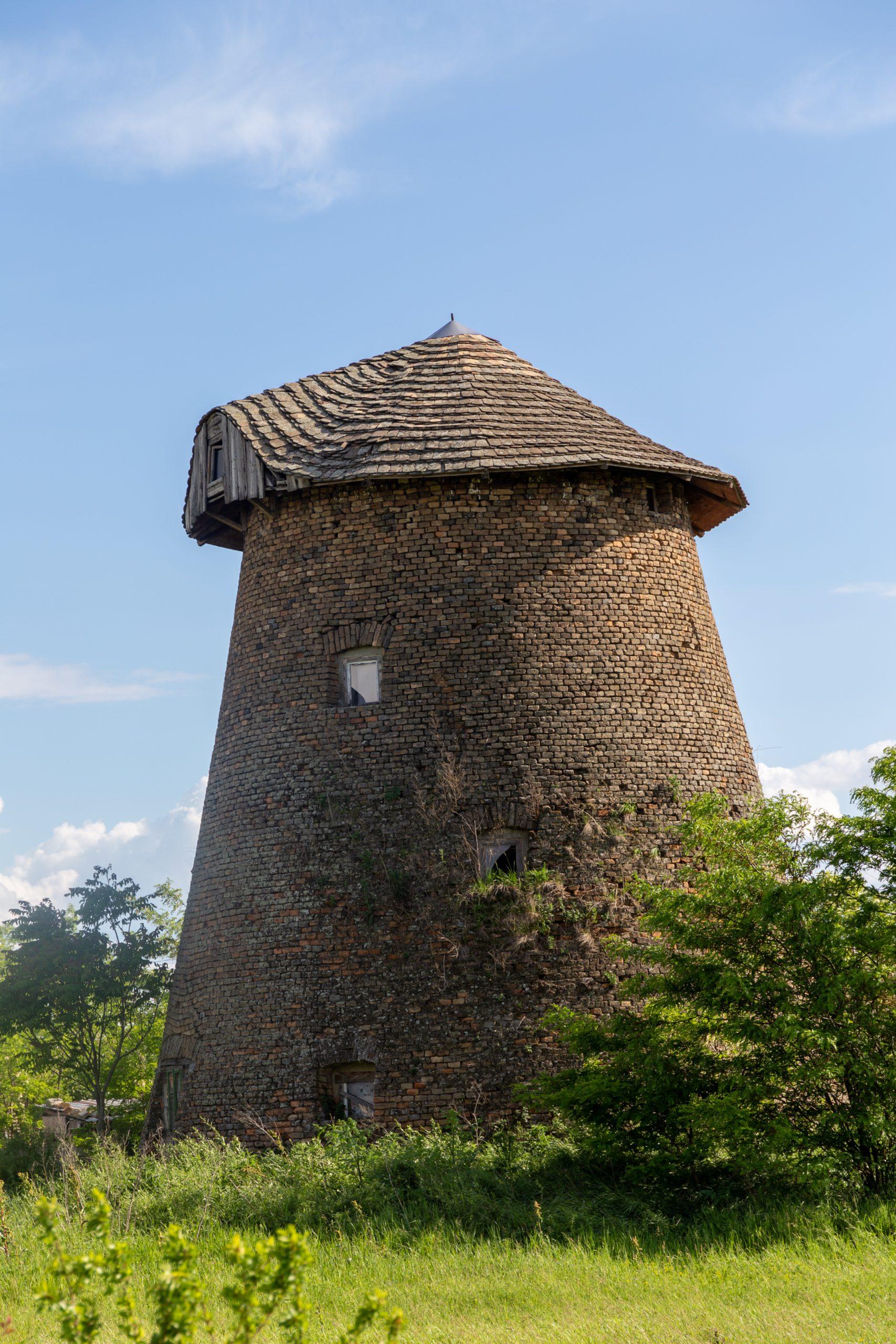 Szélmalom (Piroschka-Windmühle) in Székkutas