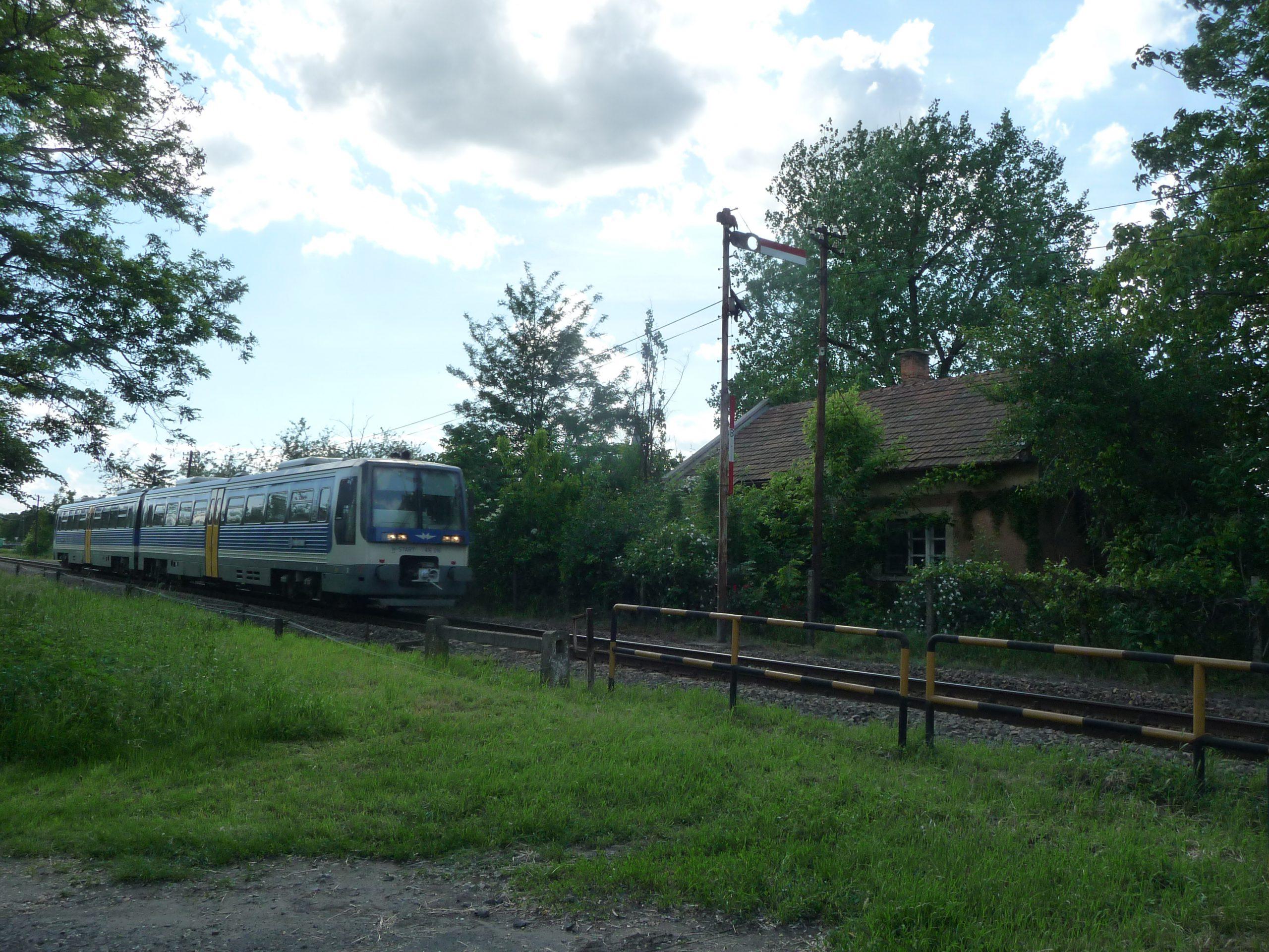 Zug in Székkutas