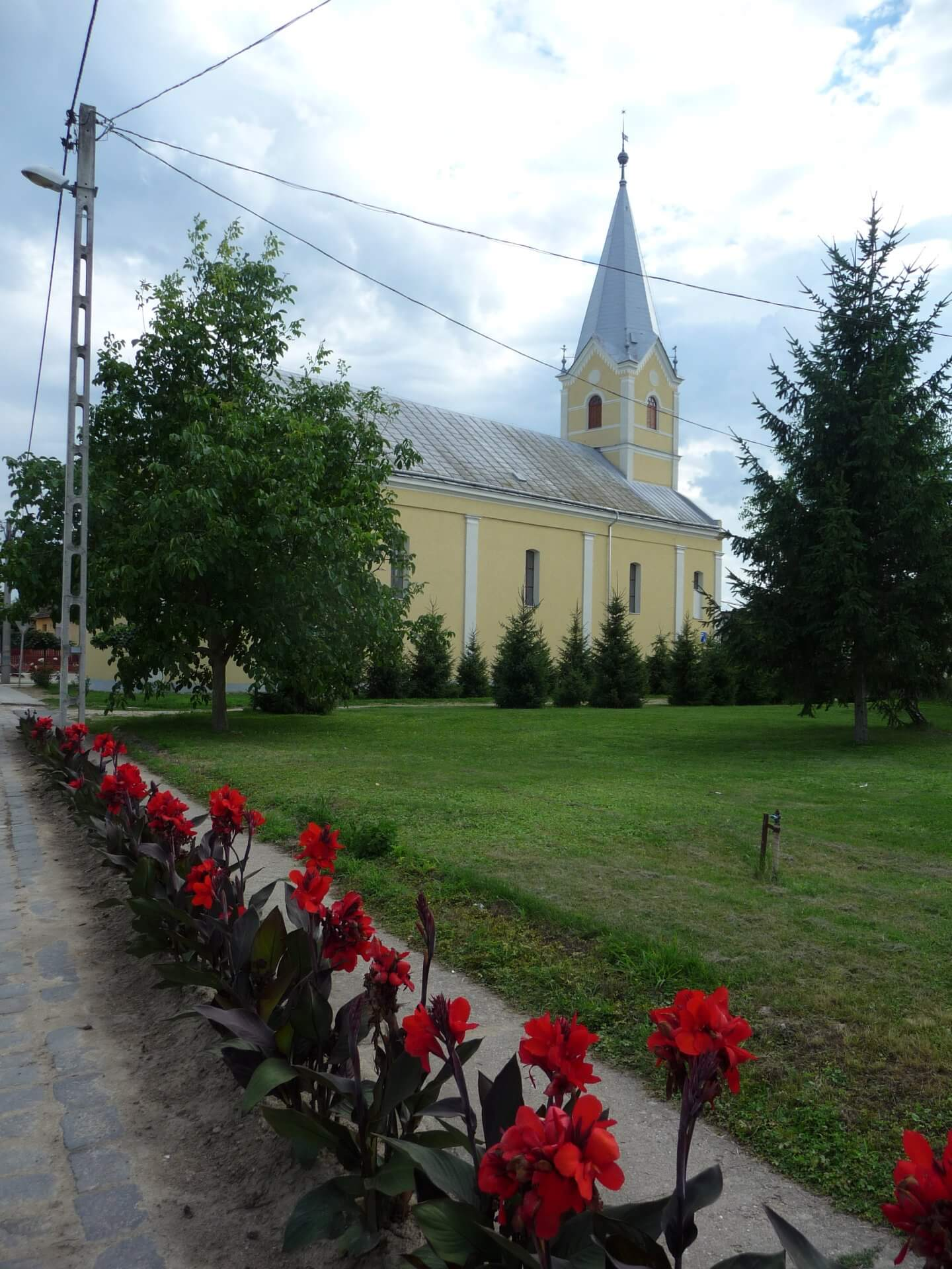 Reformierte Kirche in Szatmárcseke
