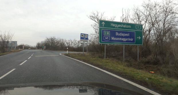 Anreise nach Ungarn über Hegyeshalom